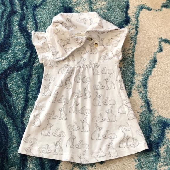 f8dad0b7cdc kate quinn Dresses | Organic Cotton Bunny Rabbit Dress 12 M | Poshmark